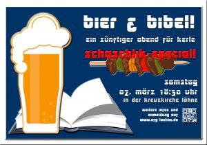 BIER UND BIBEL Schaschlikspecial