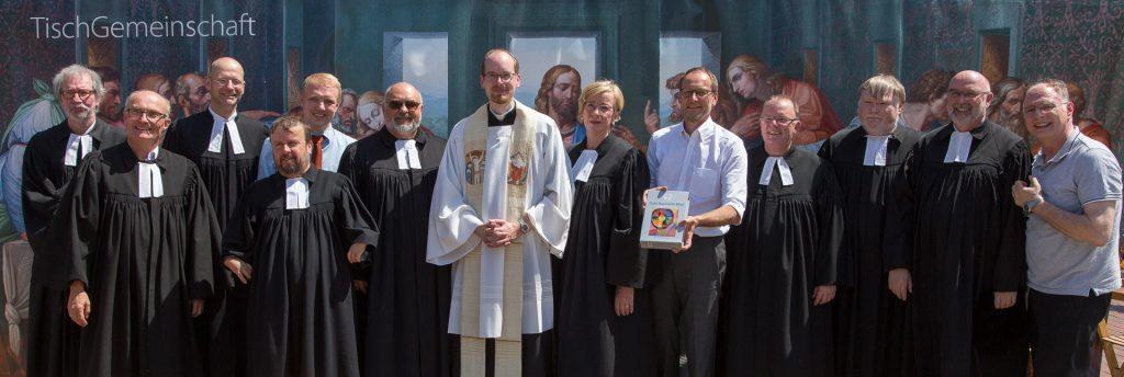 Pastoren in Löhne mit Bürgermeister